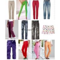 Spanische und Deutsche Damen Marken Hosen