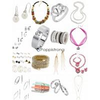 Accessoires Mix - Kette Armband Ohrringe Gürtel Ringe