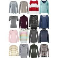 Damen Herbst Winter Bekleidung Mix - Strick Pullover Sweater Langarm Shirts etc