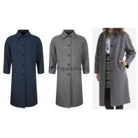 Damen Mädchen Kinder Jacke Mantel