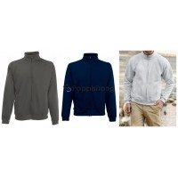 Fruit of The Loom Herren Sweater Zipper Sweat Jacke Mix