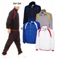 Herren Sportanzug Trainingsanzug Freizeitanzug Sport Hose Jacke 2er Set