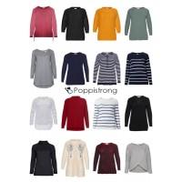Damen Übergrößen Mode Plus Size Pullover Sweater Strick Große Größen Restposten Mix