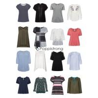 Damen Übergrößen Mode Plus Size T-Shirts Tops Blusen Große Größen Restposten Mix