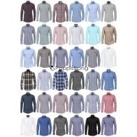 Herren Hemden Marken Hemd Langarm Business Casual Mix