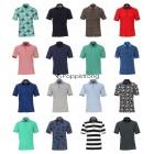 Herren Marken Polos Oberteile Tops Shirts Kurzarm Mix