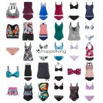 Damen Bademode Tankinis Bikinis Badeanzüge Strandmode Mix