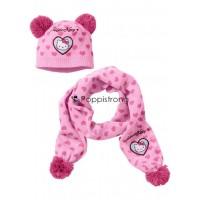 Kinder Hello Kitty Schal Mütze Set Mädchen