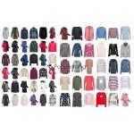 Damen Winter Bekleidung Jacken Mantel Pullover Sweater Mix