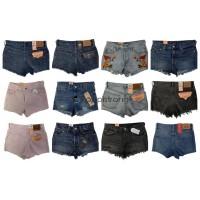 Levis Jeans Shorts Damen Marken Hosen Markenjeans Mix