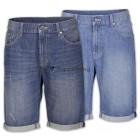 Herren Shorts Bermuda Jeans Hosen