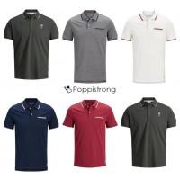 Jack & Jones Polos Herren Poloshirt Mix