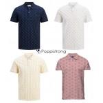 Jack & Jones Polos mit Muster Herren Poloshirt Mix