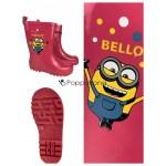 Regenstiefel Kinder rosa Gummistiefel Mädchen Lizenzware