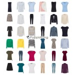 Zero Kleidung Mode Damen Textilien Mix